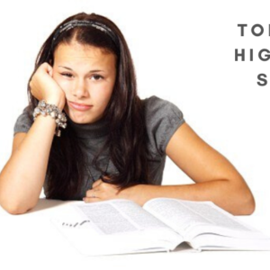 TOP TIPS FOR HIGH-SCHOOL STUDENTS